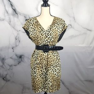 NWT Vanity Room leopard print dress